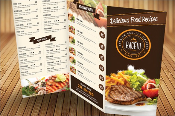 Menu Design Templates Free Download Inspirational Catering Menu Template – 36 Free Psd Eps Documents