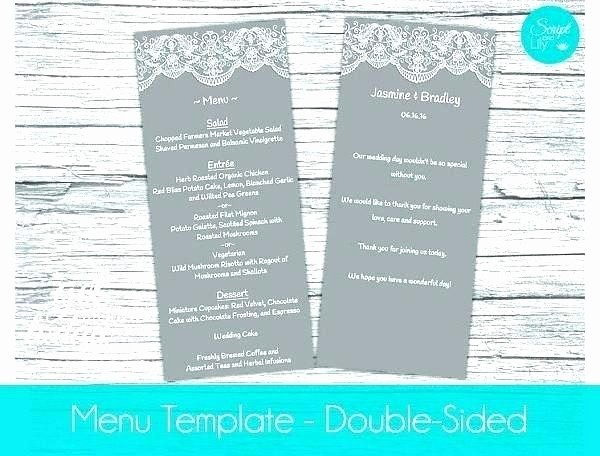 Menu Templates for Google Docs Beautiful 91 Google Docs Restaurant Menu Template Gallery