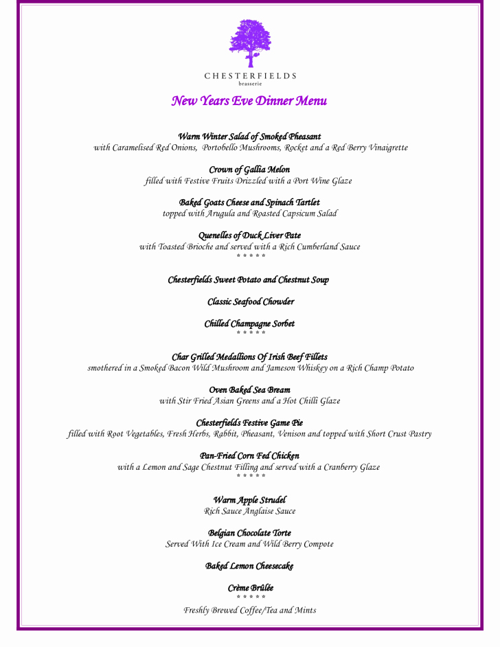 Menu Templates for Google Docs Fresh Template Dinner Menu Template