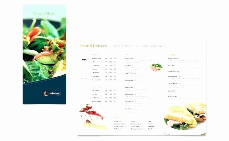 Menu Templates for Google Docs Inspirational Make Your Own Menu Template – First to