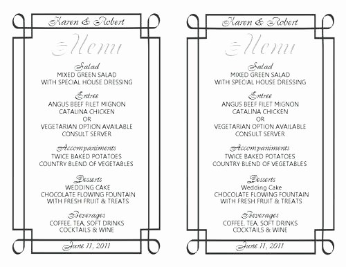 Menu Templates for Google Docs Inspirational Restaurant Menu Template Google Blogger Templates Best for