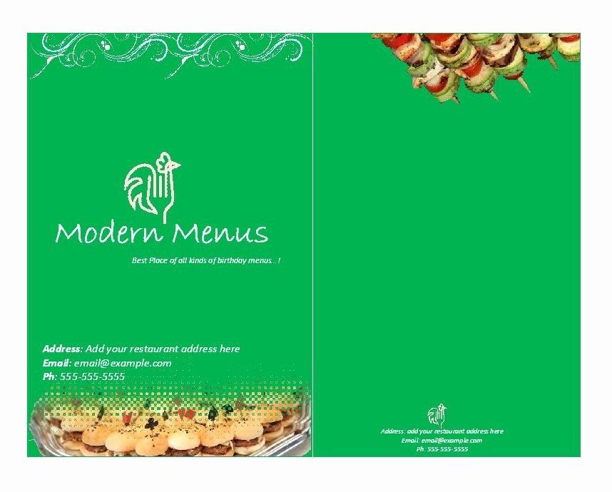 Menu Templates for Google Docs Unique Restaurant Menu Template Google Docs Beautiful Template