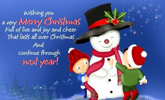 Merry Christmas Notes for Cards Awesome Christmas Wishes for Kids