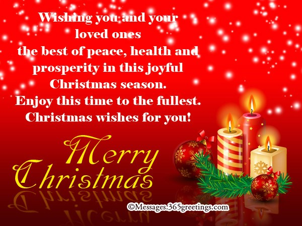 christmas wishes for cards