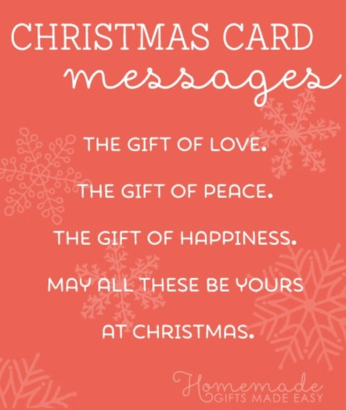 Merry Christmas Notes for Cards Luxury Christmas Card Messages Wishes and Sayings