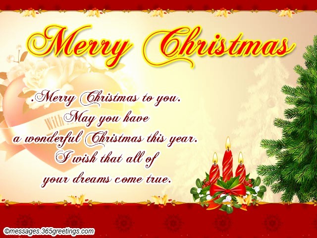 Merry Christmas Notes for Cards New Christmas Messages for Wife 365greetings