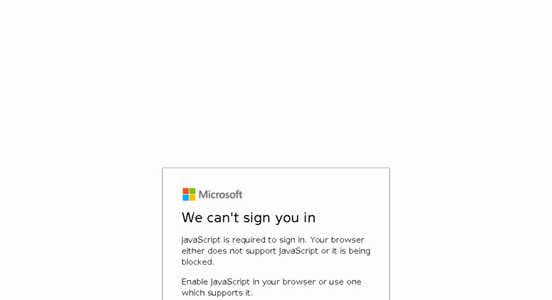 Microsoft 365 Email Login Portal New Access Portal Office365 something Went Wrong