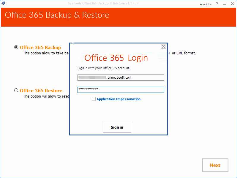 Microsoft 365 Office Sign In Elegant Fice 365 Backup software to Download Mailboxes to Pst