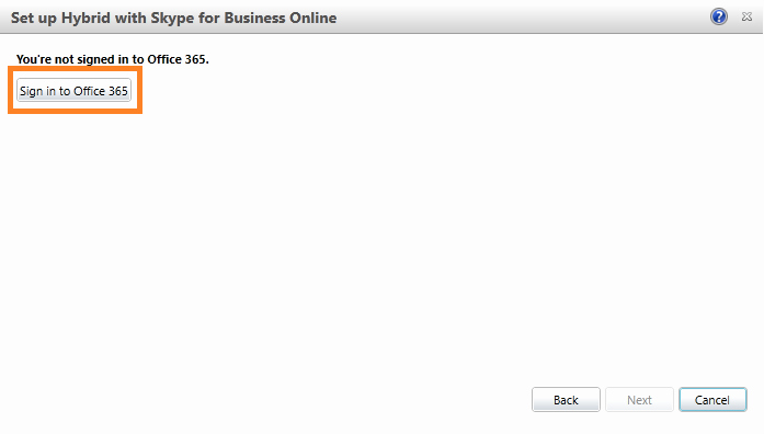 Microsoft 365 Office Sign In New Get Csjosh Blog Configure Hybrid Skype for Business