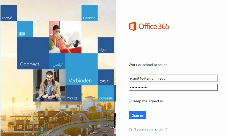 Microsoft 365 Online Sign In Best Of Saint Mary S University Of Minnesota Helpdesk Microsoft