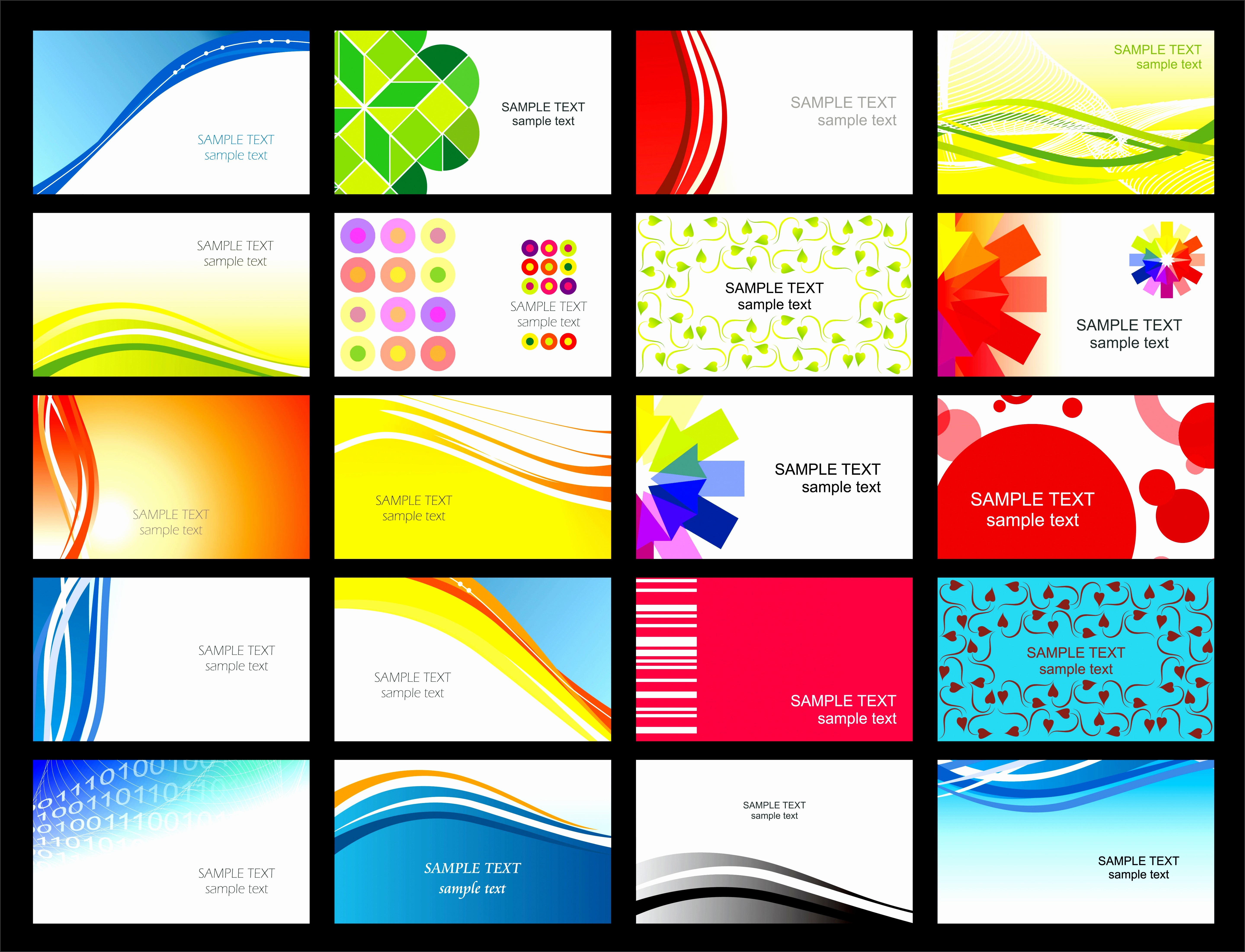 Microsoft Business Card Template Free Elegant 7 Microsoft Business Card Templates Free