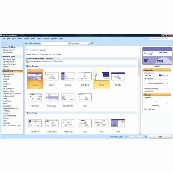 Microsoft Business Card Template Free Fresh Create Professional Business Cards with Microsoft