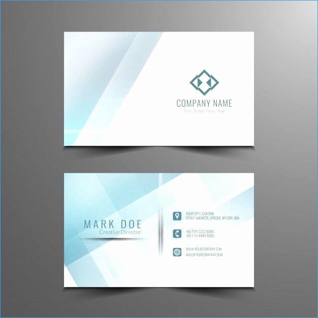 Microsoft Business Card Template Free Inspirational Free P Card Template