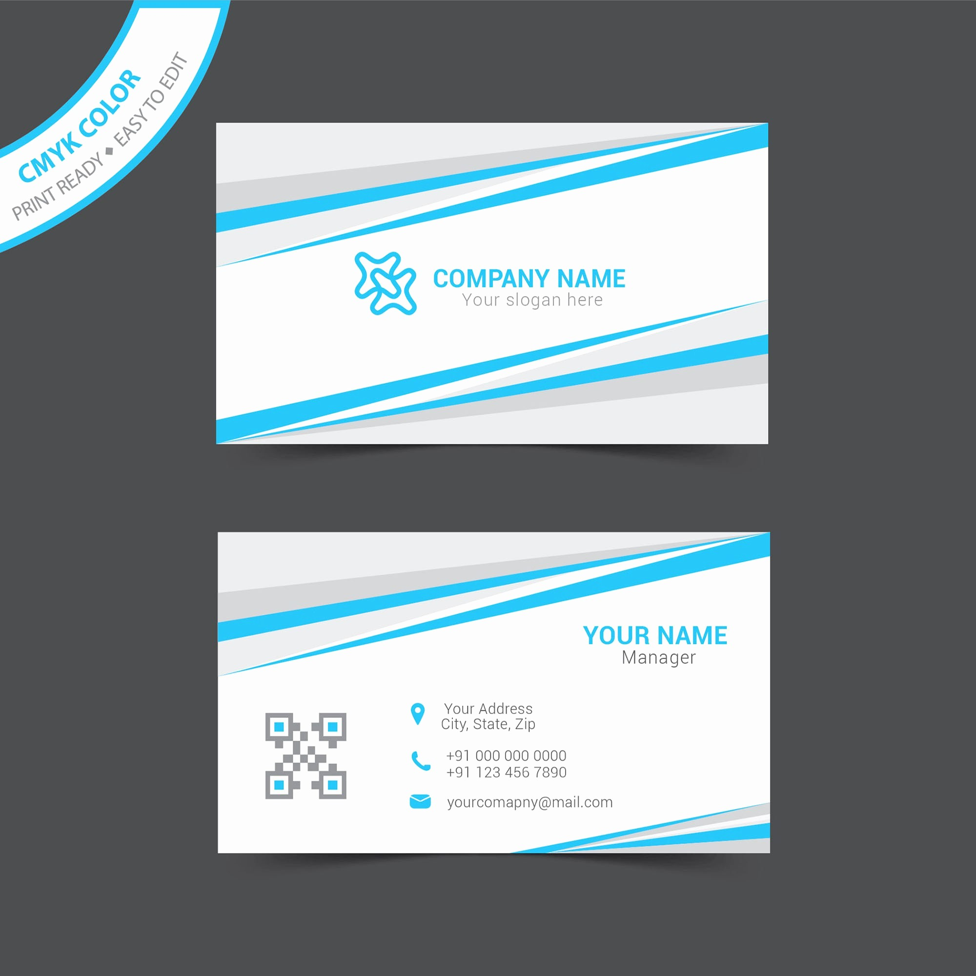 Microsoft Business Card Template Free Lovely Microsoft Business Card Template Free – Free Business Card