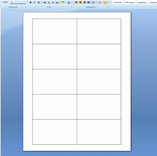 Microsoft Business Card Templates Free Elegant Blank Business Card Template Microsoft Word