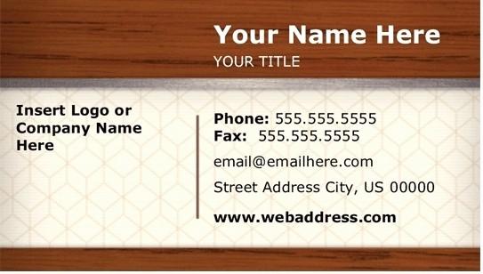 Microsoft Business Card Templates Free Elegant Download Free Business Card Template Microsoft Word