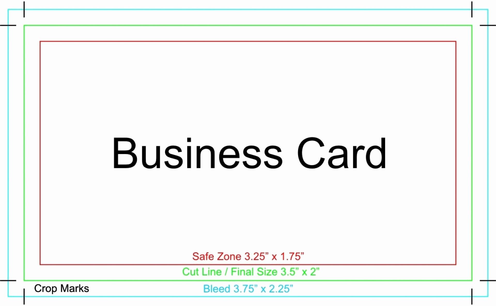 Microsoft Business Card Templates Free Unique 022 Microsoft Word Business Card Template with Crop Marks
