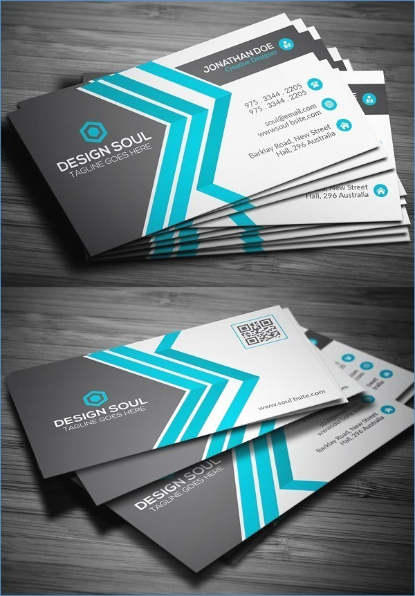 Microsoft Business Card Templates Free Unique Free Business Card Design Templates