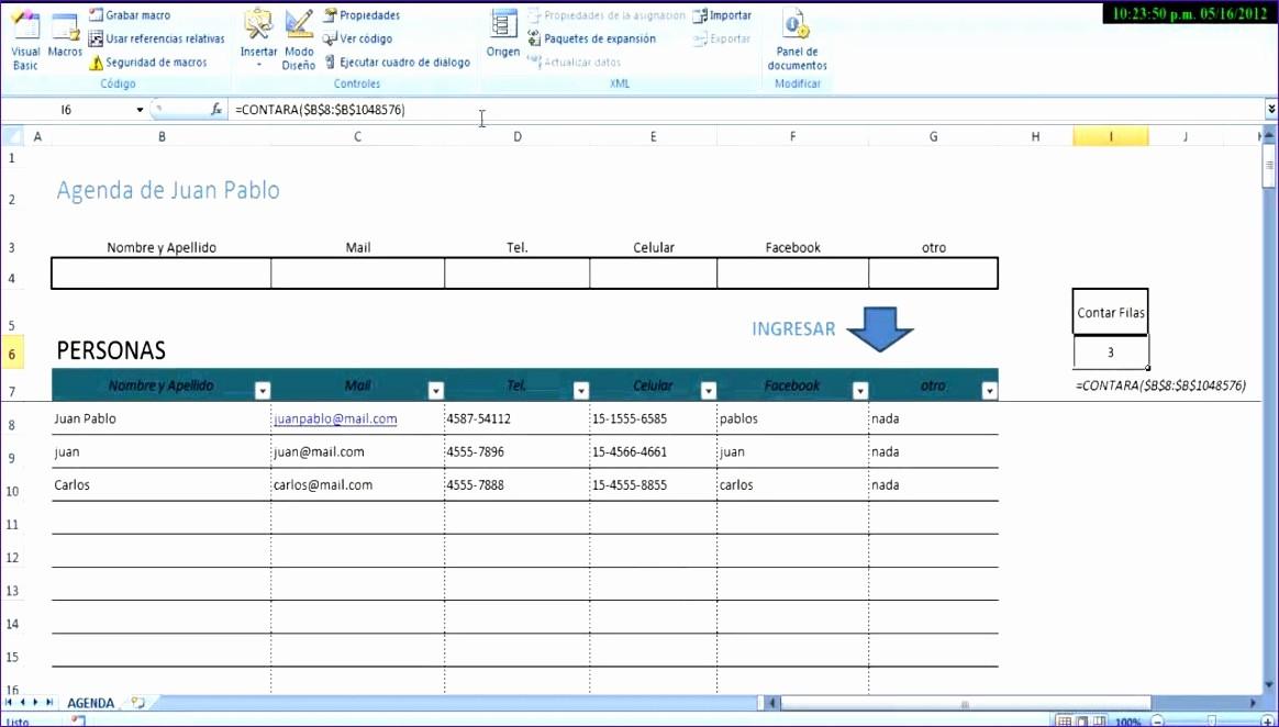 Microsoft Excel Address Book Template Fresh 6 Microsoft Excel Address Book Template Exceltemplates