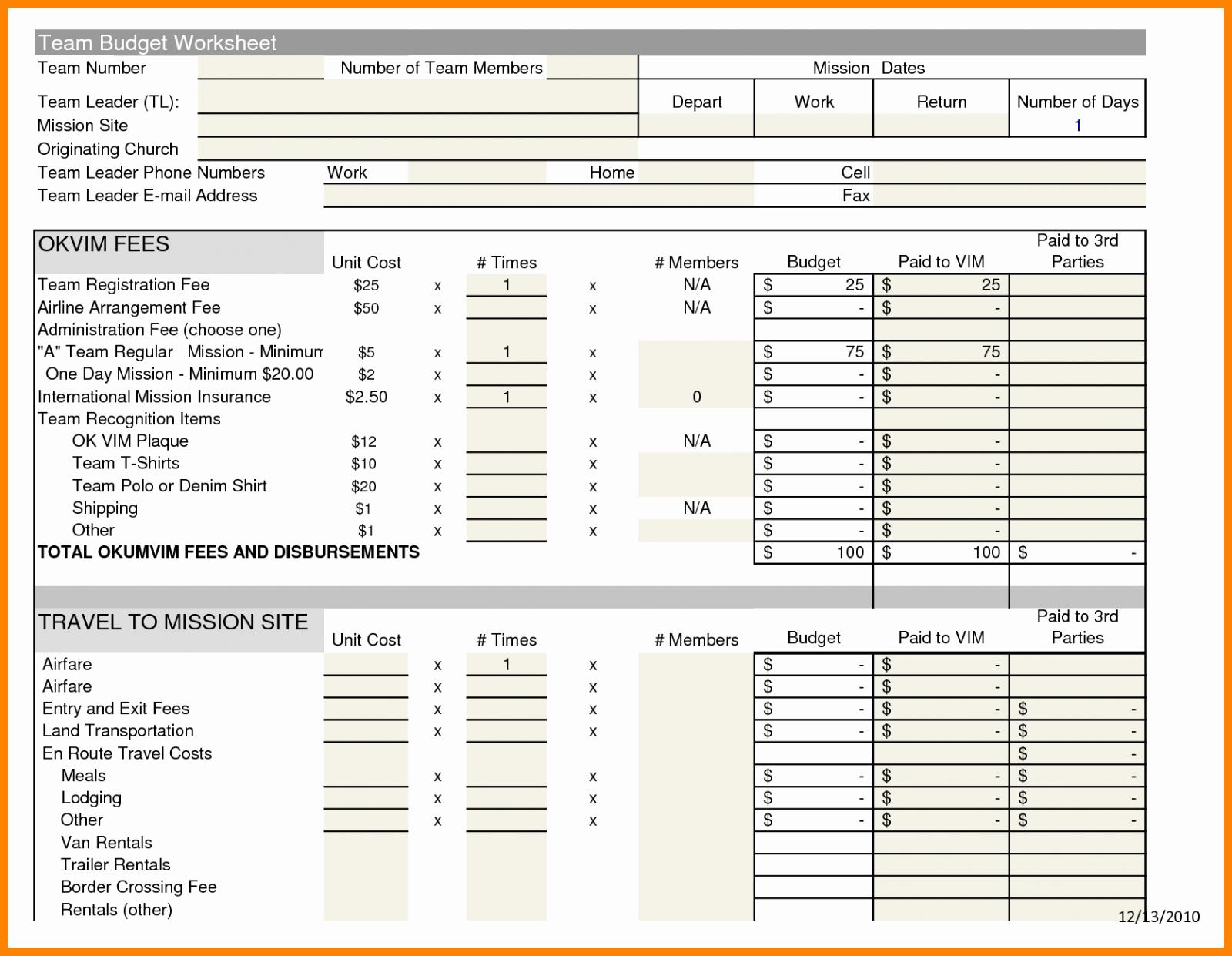 Microsoft Excel Church Budget Template Elegant Church Bud Excel Template Fresh 10 Sample Bud Spreadshe