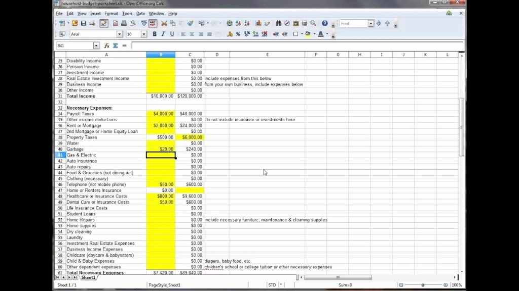 Microsoft Excel Church Budget Template Unique Bud T Excel Grant Template Collections Personal