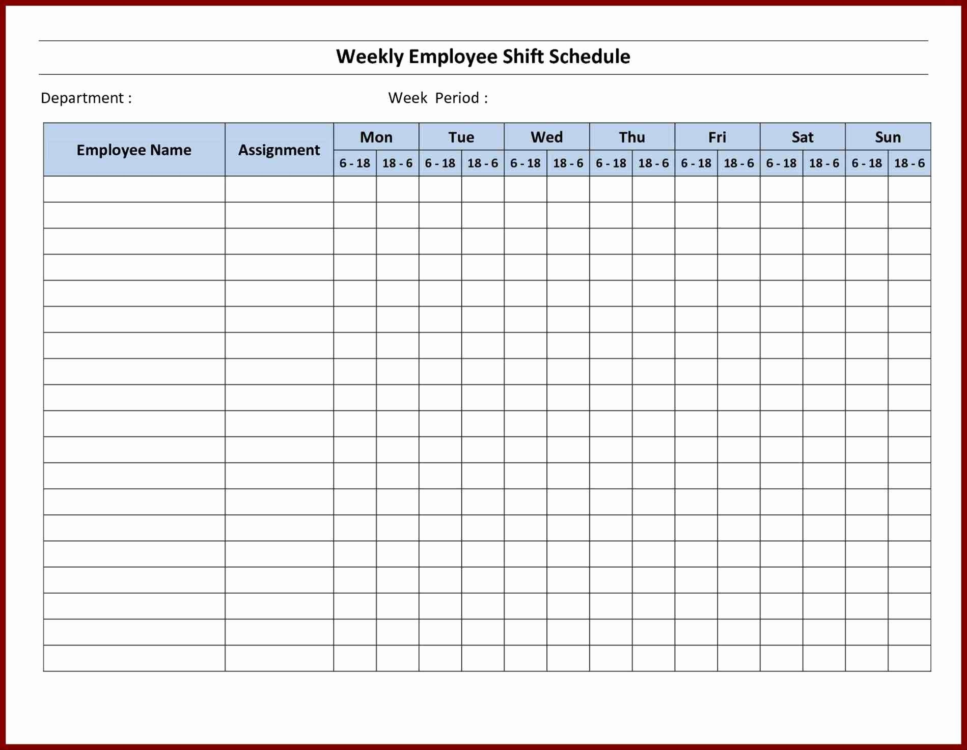 Microsoft Excel Weekly Schedule Template Fresh Printable Schedule Maker Sample Microsoft Planner
