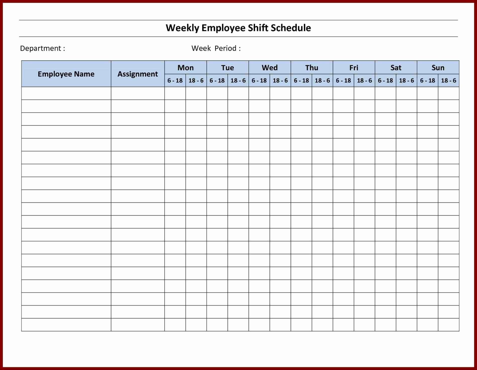 Microsoft Excel Weekly Schedule Template Fresh Printable Schedule Maker Sample Microsoft Planner