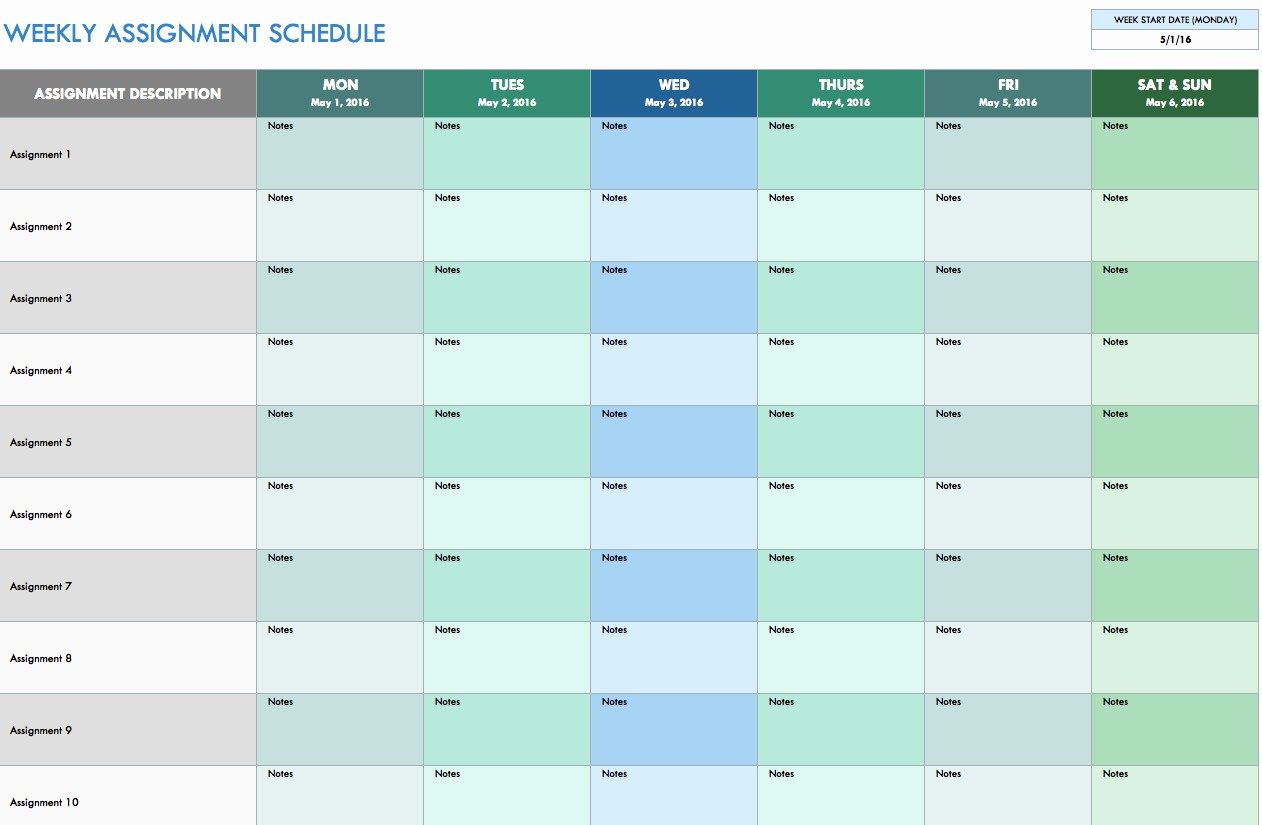 Microsoft Excel Weekly Schedule Template Fresh Schedule Spreadsheet Template Spreadsheet Templates for