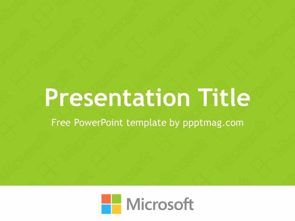 Microsoft Free Power Point Templates Elegant Free Microsoft Powerpoint Template Pptmag