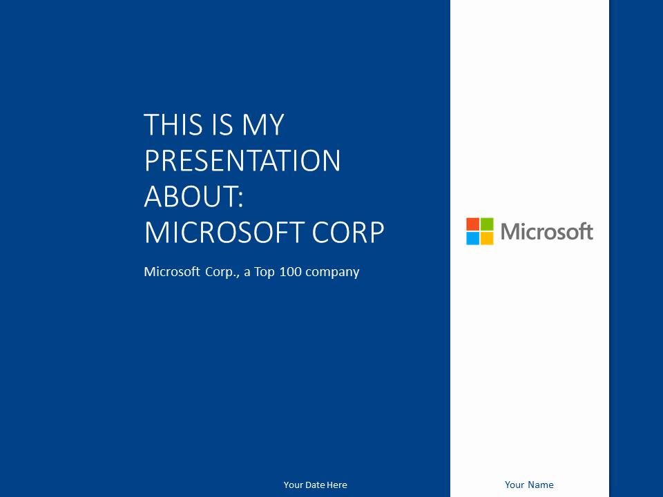 Microsoft Free Power Point Templates Fresh Microsoft Powerpoint Template Marine Presentationgo
