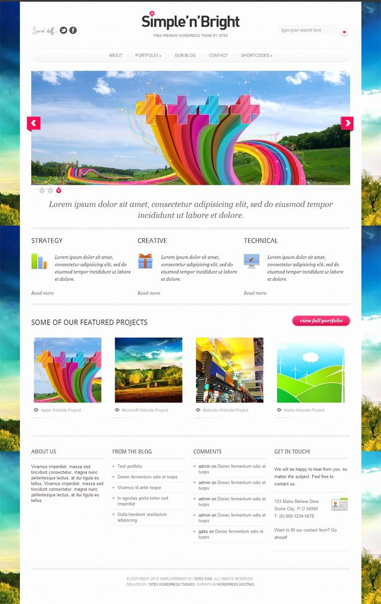 Microsoft Office 2013 themes Download Beautiful top 13 Free Wordpress themes 2013 – Blogoftheworld