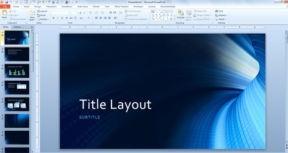 Microsoft Office 2013 themes Download Lovely Free Tunnel Template for Microsoft Powerpoint 2013