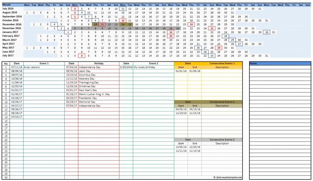 Microsoft Office 2017 Calendar Template Elegant 2016 2017 School Calendar Templates