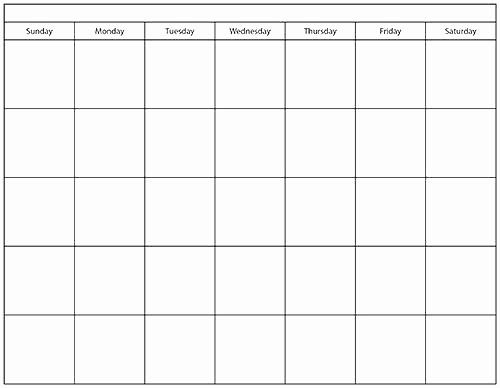 Microsoft Office 2017 Calendar Template Fresh Microsoft Blank Calendar Template 2017 Calendar Template