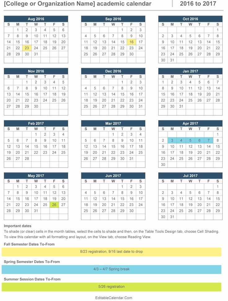 Microsoft Office 2017 Calendar Template Inspirational Ms Office Calendar Templates 2017