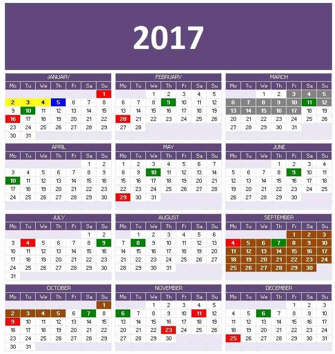 Microsoft Office 2017 Calendar Template Lovely 2017 Calendar Templates