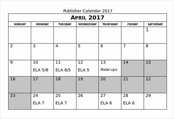 Microsoft Office 2017 Calendar Template New Microsoft Fice Calendar Templates 2019