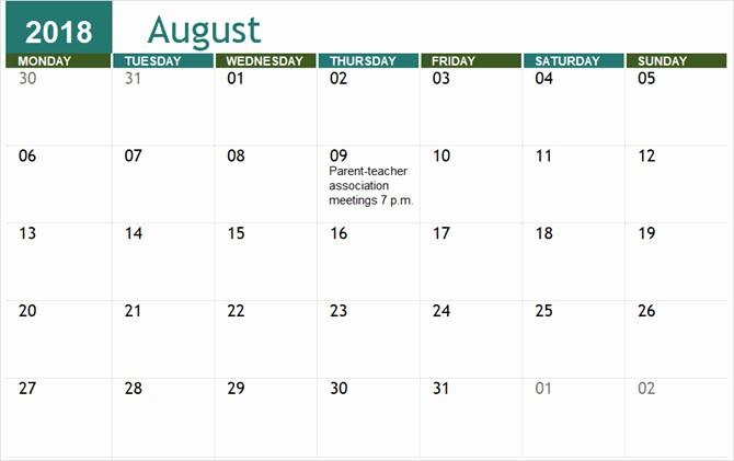 Microsoft Office 2017 Calendar Template Unique the Best Free Microsoft Fice Calendar Templates for