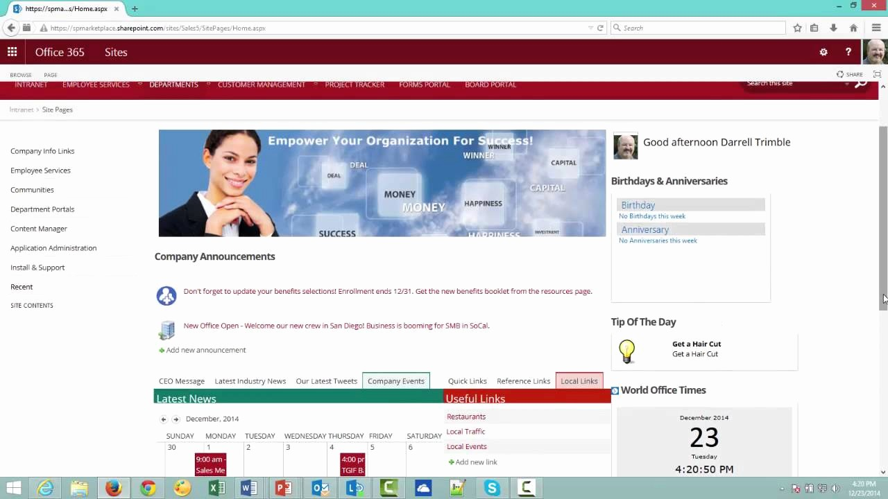 Microsoft Office 360 Sign In Best Of now Available In Modern Ui Point Fice 365 Intranet