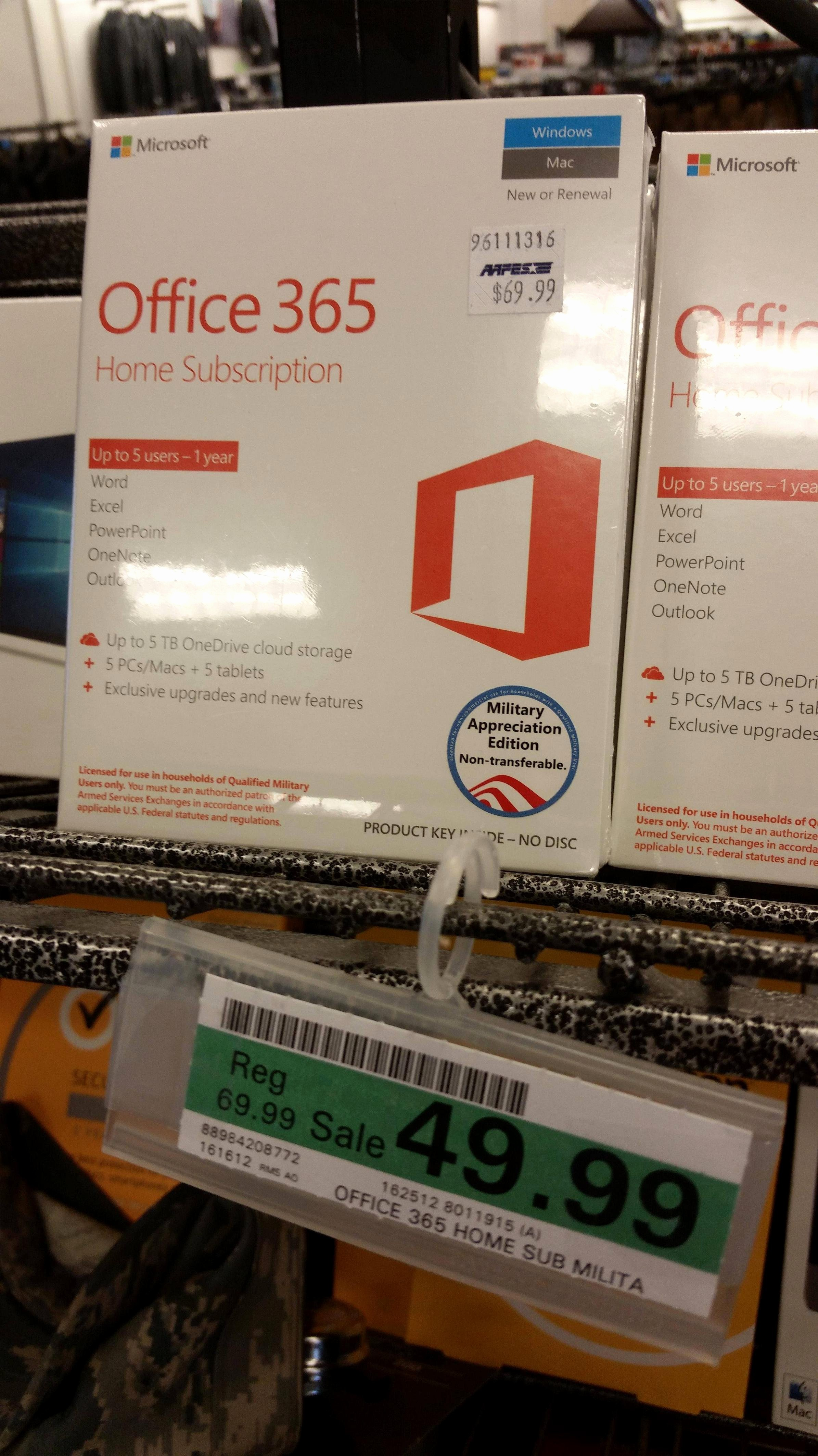 Microsoft Office 365 Subscription Login Awesome Fice 365 On Sale Airforce