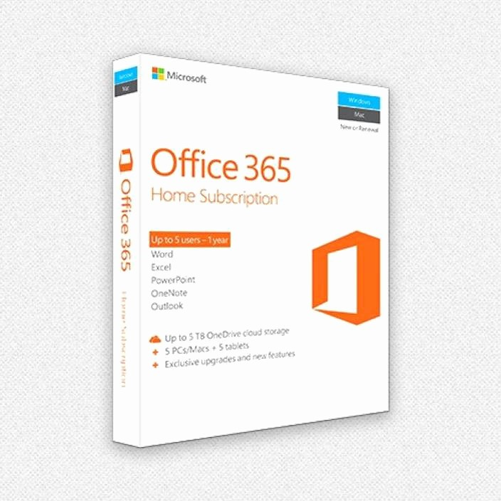 Microsoft Office 365 Subscription Login Beautiful Microsoft Fice 365 Home Premium 5 Licenses Pc Mac