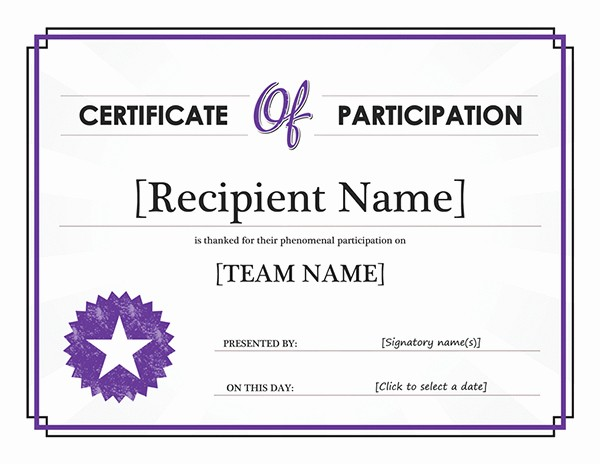 "Microsoft Office Award Certificate Template Awesome Search Results for ""blank Thank You Letter Template for"