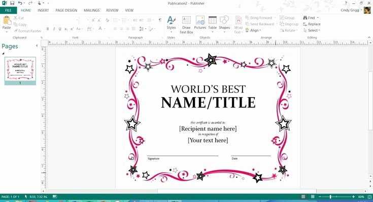 Microsoft Office Award Certificate Template Beautiful Free Printable Microsoft Fice Templates for Mother S Day