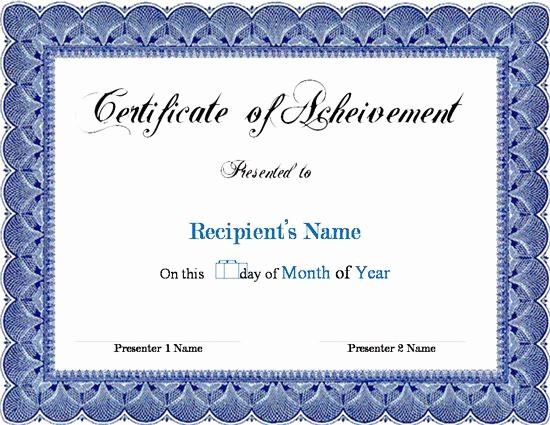 Microsoft Office Award Certificate Template Fresh Award Certificate Template Microsoft Word Links Service