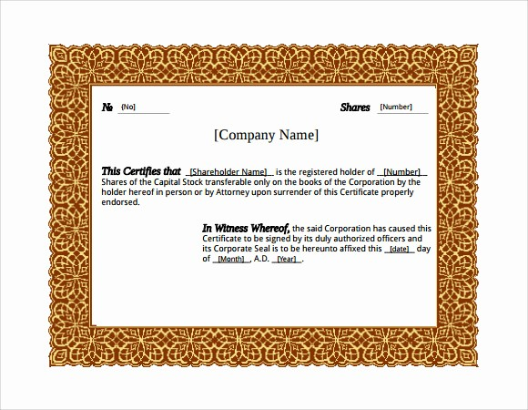 Microsoft Office Award Certificate Template Lovely 28 Microsoft Certificate Templates Download for Free