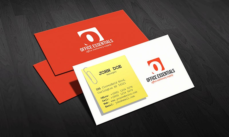 Microsoft Office Business Card Templates Awesome Creative Fice Supplies Business Card Template Free