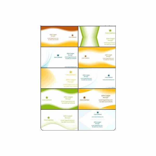 Microsoft Office Business Card Templates Awesome Open Fice Business Card Template Guide Free Downloads