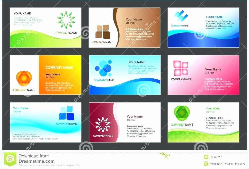 Microsoft Office Business Card Templates Fresh Business Cards Templates Microsoft Fice Word Document