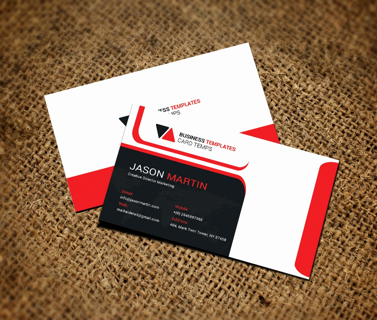 Microsoft Office Business Card Templates Inspirational Fice Business Card Template Business Card Templates On