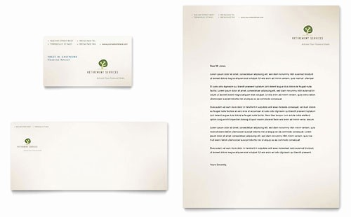 Microsoft Office Business Card Templates Inspirational Financial Services Letterhead Templates Word & Publisher